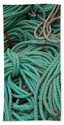 Ocean Ropes Bath Towel