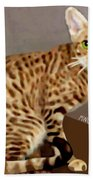 Ocicat Hand Towel