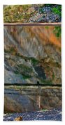 Ocoee Dam Reflection Bath Towel