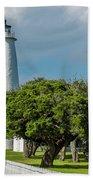 Ocracoke Island Lighthouse  Bath Towel