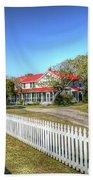 Ocracoke Lighthouse, Ocracoke Island, Nc Bath Towel