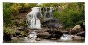October At Bald River Falls Bath Towel