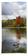 October Brisk Waterscape Bath Towel