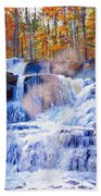 October Falls Bath Towel