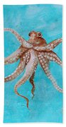 Octopus Bath Towel