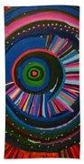 Ocular Energy Path Bath Sheet by Daina White