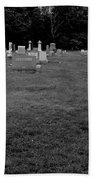 Odd Fellows Cemetery Bath Towel