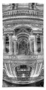 Ode To Mc Escher Library Of Congress Orb Horrizontal Bath Towel