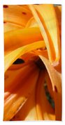 Office Art Floral Artwork Orange Tiger Lily Baslee Troutman Bath Towel