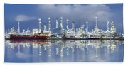 Oil Refinery Industry Plant Bath Towel