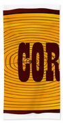 O.k. Corral Log Sign Bath Towel