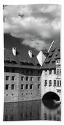 Old Architecture  Nuremberg Bath Towel