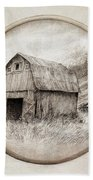 Old Barn Hand Towel by Eric Fan