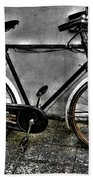 Old Bicycle Bath Towel