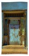 Old Blue Door  Bath Towel