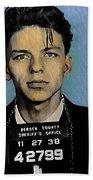 Old Blue Eyes - Frank Sinatra Bath Towel