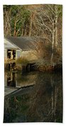 Old Boat House Bath Towel