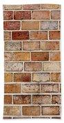 Old Brick Wall Bath Towel