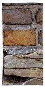 Old Bricks Bath Towel