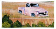 Old Chevy Truck Hand Towel