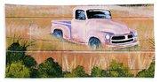 Old Chevy Truck Bath Towel