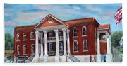 Old Courthouse In Ellijay Ga - Gilmer County Courthouse Bath Towel