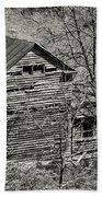 Old Deserted Farmhouse 3 Bath Towel