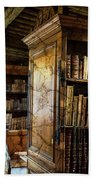 Old English Library Bath Towel