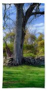 Old Family Plot In Cromwell Valley Park Bath Towel