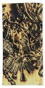 Old-fashioned Deer Jewellery Bath Towel