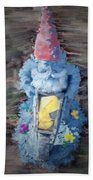 Old Garden Gnome Bath Towel