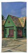 Old Gas Station Route 66 Cuba Mo Dsc05559 Bath Towel