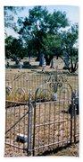 Old Grave Site 2 Bath Towel