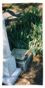 Old Grave Site Bath Towel