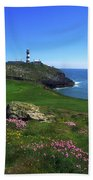 Old Head Of Kinsale Lighthouse Bath Towel