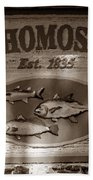 Old Homosassa Bath Towel