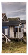 Beach Huts At Old Hunstanton Bath Towel