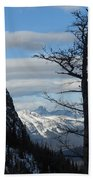 Old Larch Tree Has Best View Bath Towel