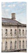 old mill building Oxford, England Bath Towel
