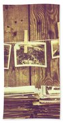 Old Photo Archive Hand Towel