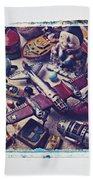 Old Plane And Other Toys Bath Towel