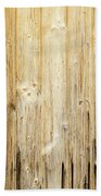 Old Planked Wood Used As Background Bath Towel
