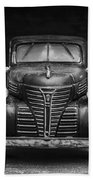 Old Plymouth Truck Square Bath Towel