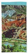 Old Roads To Chama Hand Towel