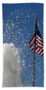 Old San Juan Puerto Rico Old Glory Hand Towel