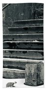 Old Stairs To Nowhere Bath Towel