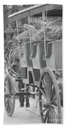 Old Time Horse And Buggy Bath Towel