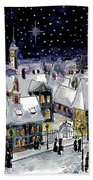 Old Time Winter Bath Towel