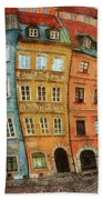 Old Town In Warsaw # 32 Bath Towel
