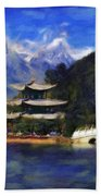 Old Town Of Lijiang Hand Towel